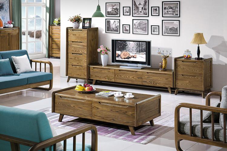 北欧风格实木家具,自然、简约、人性