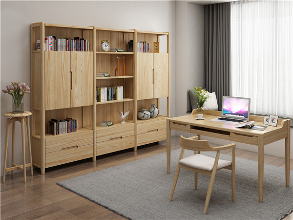江西北欧家具分享保养实木书柜的技巧
