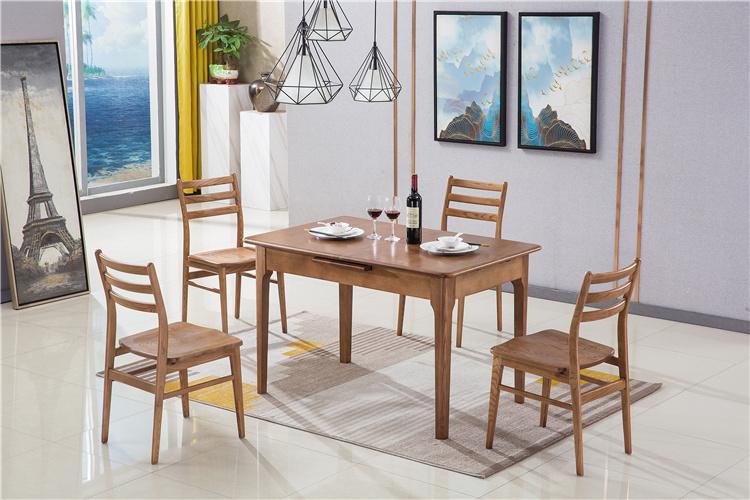 北欧家具白蜡木实木餐桌